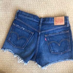 Levi Jean 501 shorts